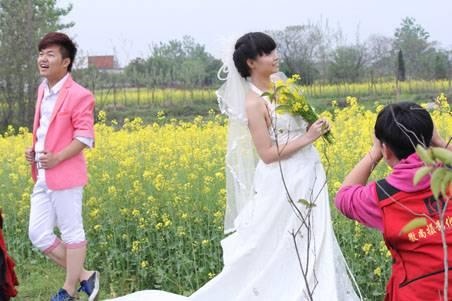 徽尚摄影班去肥西农村拍摄以油菜花为主题