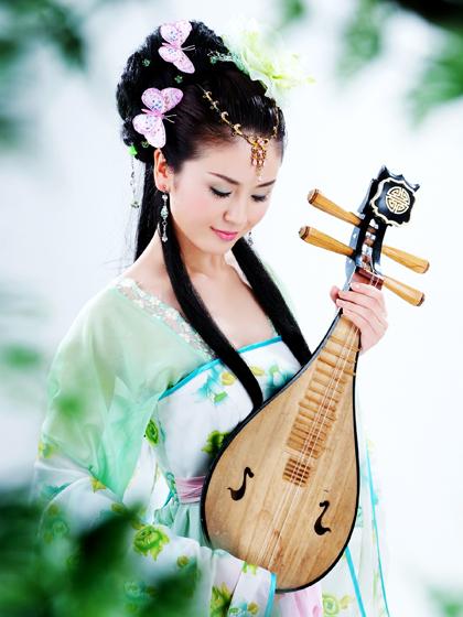 美女吉他弹唱 女儿情 指弹吉他独奏自学教程教学入门