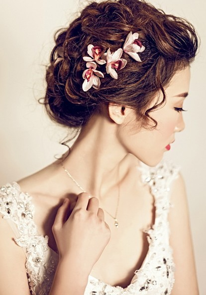 2014年我想在合肥学影楼新娘化妆_ 合肥徽尚摄影化妆